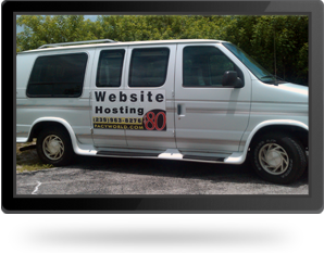 Website Hosting Van